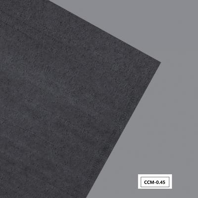 Cement coated fiberglass cloth mat
